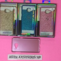 HOT SALE Case Gliter Samsung C5 Pro 5.2 inchi Hardcase Bling Bli