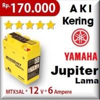 Aki Yamaha Jupiter Lama Mtx5al Motobatt U-yuasa Gs Motor Motobat