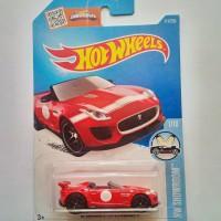 Hot Wheels / Hotwheels '15 Jaguar F-Type Project 7 Red