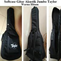 Tas Gitar Akustik / Softcase Gitar Akustik ukuran jumbo Taylor