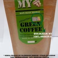 Jual MY green coffee / kopi hijau bubuk diet hasil langsung terlihat Murah