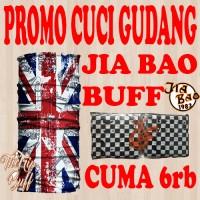 Jual HARGA CUCI GUDANG Bandana Multifungsi Jia Bao Headwear MOTIF RANDOM Murah