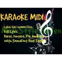 Karaoke Midi 35 Ribu File Lebih + Gratis Update