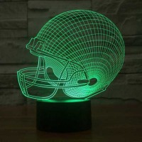 Jual Lampu 3D LED Transparan 7 Color Design Star Wars Ship Murah Murah