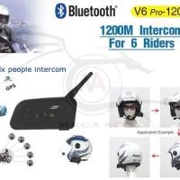 BT Bluetooth Motorcycle Helmet Interphone 1200M Interco Berkualitas