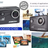 Sports Camera SOOCOO C100 4K Wifi - ORIGINAL Limited