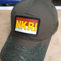 topi pati tni ad patch rubber nkri