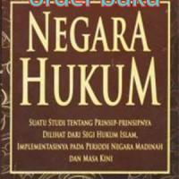Buku Negara Hukum Pengarang Prof. Dr. H. Muhammad Tahir Azhary, S.H.