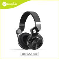 Jual Headphone Headset Bluetooth Bluedio T2+ Plus Turbine Hurricane - Black Murah