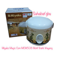 Miyako Magic Com MCM508 Motif Batik Wayang