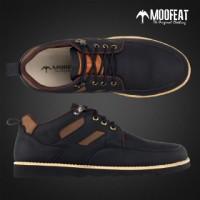 Sepatu Casual Zapato Kulit Pria/Sepatu Mocasin Kulit Moofeat Murah