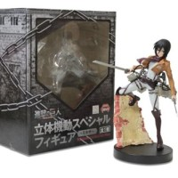 Attack On Titan Action Figure Shingeki No Kyojin Mikasa Ackerman Figma