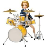 K-ON! Ritsu Tainaka School Uniform Ver. with Drumset figma Action Figu