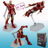 THE AVENGERS/ IRON MAN MARK VII 16 CM- ACTION FIGURE FIGMA #217 BOX 6.