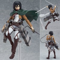Attack On Titan Action Figure Shingeki No Kyojin Mikasa Ackerman PVC F