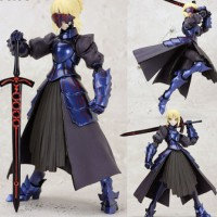 """New figma 072 Fate/stay night Saber Alter 15cm / 6"""" PVC Figure New in"""