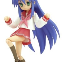 NEW figma 008 Lucky Star Konata Izumi Winter Uniform ver. Figure F/S