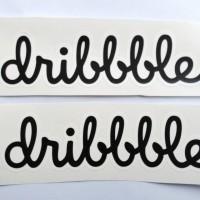 Stiker Dribble - Vinyl Cut