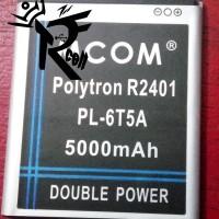 Batre Baterai Polytron R2401 R 2401 Batre PL6T5A Politron R2401