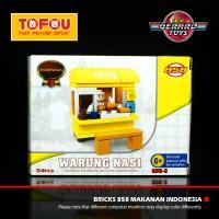 Mainan Lego 858 Makanan Indonesia Warung Nasi