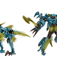 05 - Mainan Robot Transformers 4 Dinobots Slash Figure Transformers