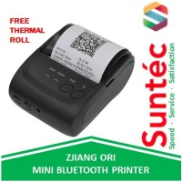 ZJIANG Mini Bluetooth Thermal Printer Resi POS Kasir Struk ZJ-5802