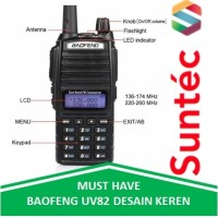Baofeng BF UV82 Walkie Talkie 5W / Radio HT Original