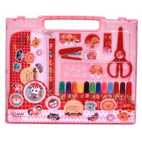 Mainan STATIONARY SET GGMM-119 MERAH
