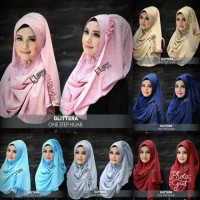 Hijab Instan One Step Gliterra Ori Flow