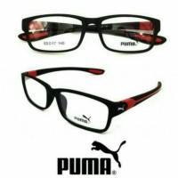 Kacamata Sporty + Lensa Minus Plus Antiradiasi, Frame Baca Pria Wanita