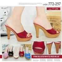 Jual sepatu sneakers wedges flat shoes wanita import batam terbaru 2017 Murah