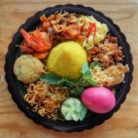 Nasi Kuning mini | nasi tumpeng mini | Nasi unik