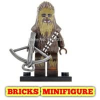 MINIFIGURE Star Wars Chewbacca 199 Starwars XINH 104 MINIFIGURES LEGO