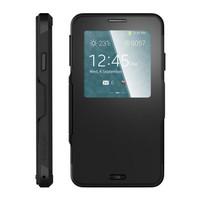 CASING Samsung Note 3, S4 Spigen Slim Armor S-View FLIP CASE HARD