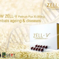 ORIGINAL Zell V Platinum Plus (Gold) Sheep Placenta, Plasenta Domba