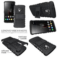 Jual Case Lenovo K4 Note A7010/ Vibe 3X/3 X Rugged Armor Soft Casing Cover Murah