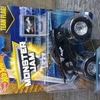 hot wheels monster jam with team flag batman