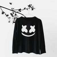 Jual Tumblr Tee / T-Shirt / Kaos Wanita Lengan Panjang Marshmello Murah