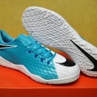 Sepatu Futsal Nike Hypervenom Phelon III Blue White