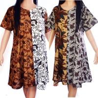 Jual Daster Batik Baju Tidur katun baju santai sogan D39 Murah