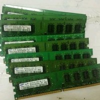 MEMORY PC DDR2 2GB PC5300 ( RAM KOMPUTER / DESKTOP DDR2 2 GB SECOND