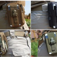 iPhone Samsung Belt Double Men Waist Outdoor Bag Tas HP Kecil Pinggang