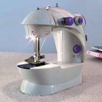 Jual MINI Portable Sewing machine 202 LAMPU mesin jahit mini staples Alat  Murah