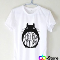 T Shirt | Kaos My Neighbor Totoro Logo