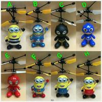 Flying Toys Helikopter kartun Toys / Mainan Drone Sensor / Flash Ball