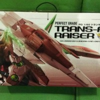 P-Bandai PG 1/60 Gundam 00 Raiser TransAm - Perfect Grade Trans Am