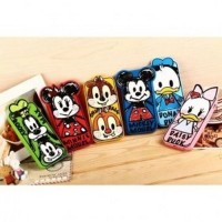 Stylish Donald Duck TPU Case for iPhone 5/5s/SE Yellow