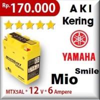 harga Aki Yamaha Mio Smile Mtx5al Motobatt U-yuasa Gs Motor Motobat Tokopedia.com