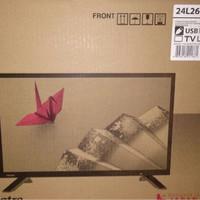 TOSHIBA LED TV 24 INCH 24L2600 USB MOVIE BISA GOJEK