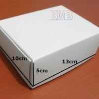 (K.21) Karton 13 x 10 x 5 Box Kertas Duplex Polos